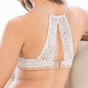 Soma Full Coverage Racerback Bra with lace 38D
